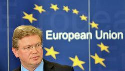 Еврокомиссар Штефан Фюле не планирует встречаться с делегацией Украины
