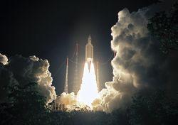 Российская ракета успешно вывела на орбиту британские спутники