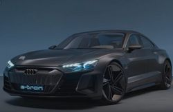 Представлен суперкар Audi e-tron GT с электромотором