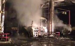 Владелец взорвавшейся АЗС уверен в теракте, милиция говорит о газе
