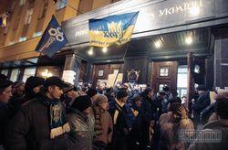 Протестующие на Майдане решили пикетировать центральные телеканалы