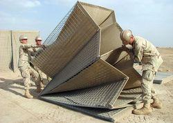 Турчинов объяснил, чем не устраивают американские защитные габионы Hesco
