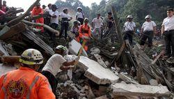 Число жертв из-за оползня в Гватемале достигло 130 человек