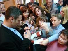 Виталий Кличко оказался среди пяти самых выдающихся украинцев