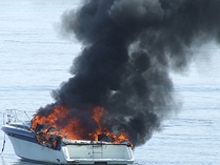 На пляже в Одессе произошел взрыв моторной лодки
