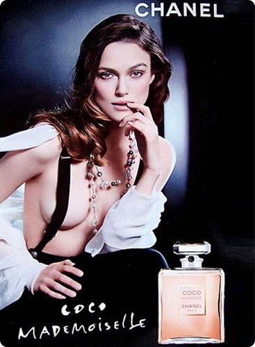 ASA запретил рекламу духов Chanel с Кирой Найтли показывать детям