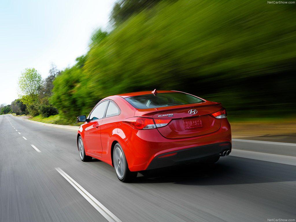 Hyundai Elantra Coupe 2013 стане…