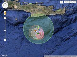 Землетрясение в 6,4 балла около Крита: разрушения есть, жертв нет