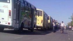 В Узбекистане столкнулись два автобуса, вывозившие людей на сбор хлопка