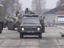 В Украине началась передислокация войск