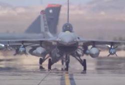 В США снова разбился истребитель F-16