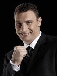 Боксер и политик Виталий Кличко