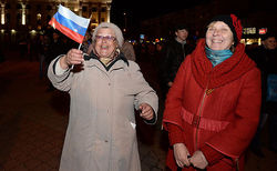 Россия ежегодно будет выделять 36 млрд. рублей на пенсии в Крыму