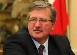 Коморовский: Путин не должен заменять Конституционный суд Украины
