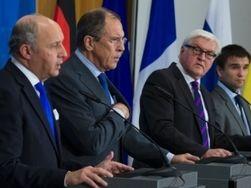 """""""Безграничная наивность"""" - СМИ о встрече дипломатов из Германии, Украины, Франции и России"""