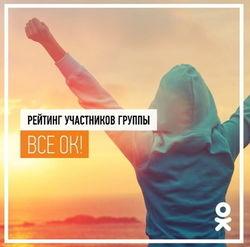 «Одноклассники» определили самых общительных участников и знатоков группы «Все ОК» июля 2014г.