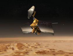 """Индийская ISRO опубликовала первые снимки Марса с """"Мангальян"""""""