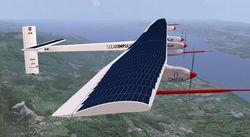 Solar Impulse 2 установил рекорд дальности беспосадочного полета