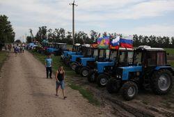 Из Кубани стартовал «тракторный марш» на Москву