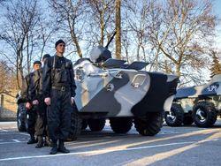 МВД: Новые подразделения ВВ со всей Украины – это просто смена караула