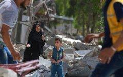 Сирийские повстанцы сообщили о сильнейших бомбардировках Алеппо