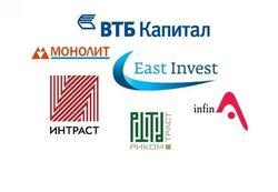 ВТБ Капитал и Монолит названы самыми популярными инвесткомпаниями России