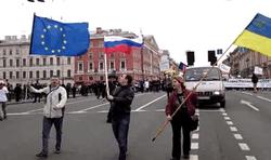В Петербурге поддержали Украину