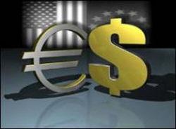 Курс евро понизился до 1.3400 против доллара на Forex
