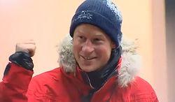 Принц Гарри таки добрался до Южного полюса – первым из королевской семьи
