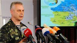 СНБО: никаких переговоров по «линии разграничения» с боевиками не было