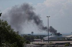 АТО в Донецке: слышны выстрелы с территории аэропорта