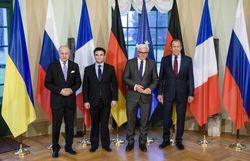 «Нормандская четверка» призывает продолжить отвод вооружений в Донбассе
