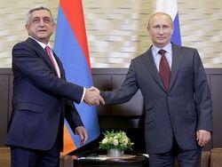 О чем договорились Путин и Саргсян в Москве?