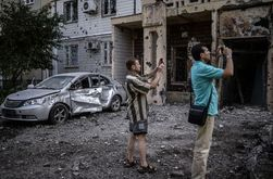 Террористы довели захваченные города до гуманитарной катастрофы – СНБО