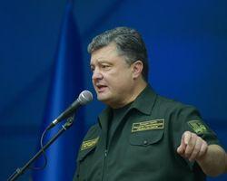 Порошенко рассказал о готовности линии обороны на востоке Украины