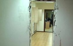 Антикоррупционеры Чорновол разгромили офис госинспекции в Киеве