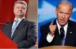 Байден по телефону поддержал план Порошенко и удивился его выполнению