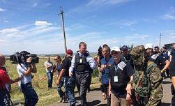 Боевики не дают иностранным экспертам работать на месте крушения Боинга