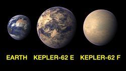 Планета Kepler-62f может оказаться обитаемой