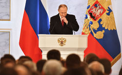 Путин в своем послании ничего не сказал о политических реформах
