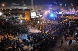 Украина: Начался штурм Киевской горадминистрации