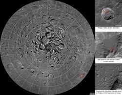НАСА представила интерактивную фотокарту Арктики Луны