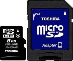 Toshiba рассказала о сверхбыстрых картах памяти