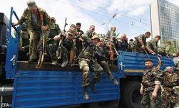 В Снежном, Торезе и Шахтерске резко выросла численность террористов