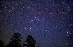 На этой неделе можно полюбоваться самым красивым метеорным потоком Персеиды