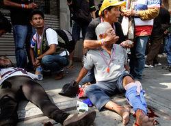 Демонстрации в Таиланде переросли в уличные бои в столице