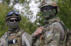 Бойцы украинских ССО