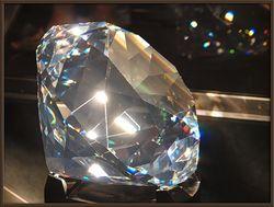 Самый большой в истории алмаз выставят на торги на аукционе