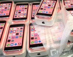 Фото упаковки и руководства iPhone 5C