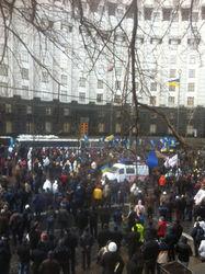 Яценюк призвал митингующих идти к Администрации Президента - причины